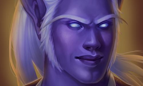 Painted Character Portrait