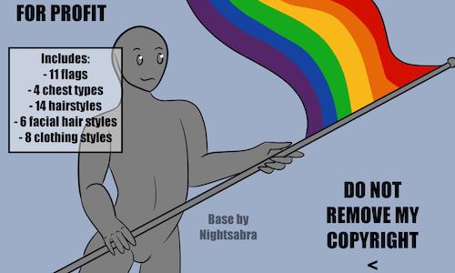 Pride Base - Humanoid