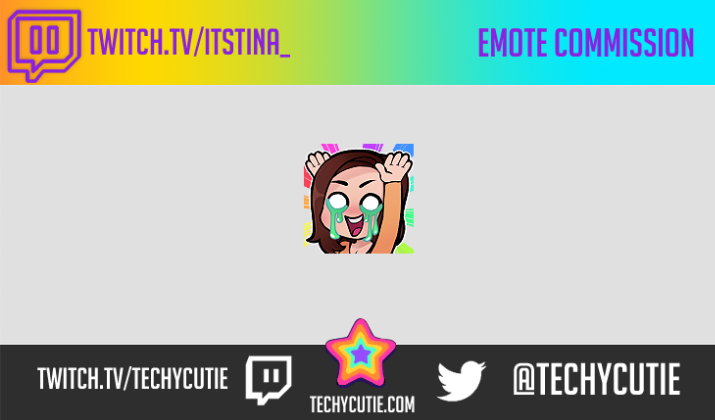 Custom Twitch Emotes by TechyCutie - Commiss io