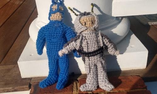 Custom Crocheted Character Doll