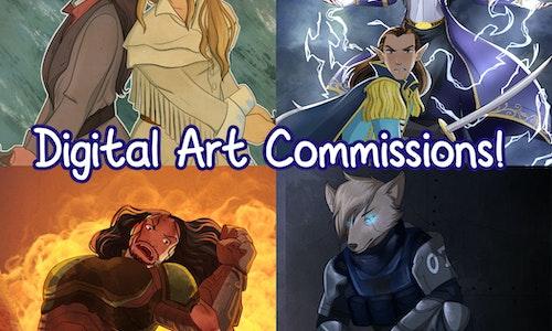Digital Art Commissions!