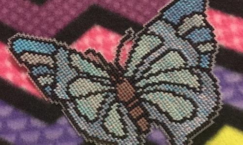 Butterfly #2 Cross Stitch Pattern