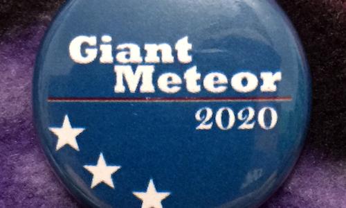 Giant Meteor - Magnetic Needleminder