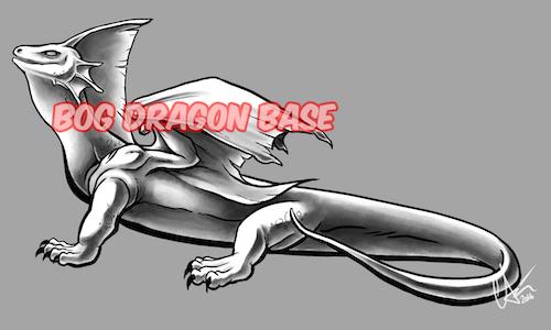 Bog Dragon Base