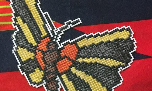 Butterfly #1 Cross Stitch Pattern